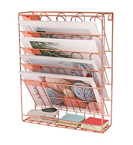 Amazon.: New Superbpag Hanging File Organizer, 6 Tier Wall