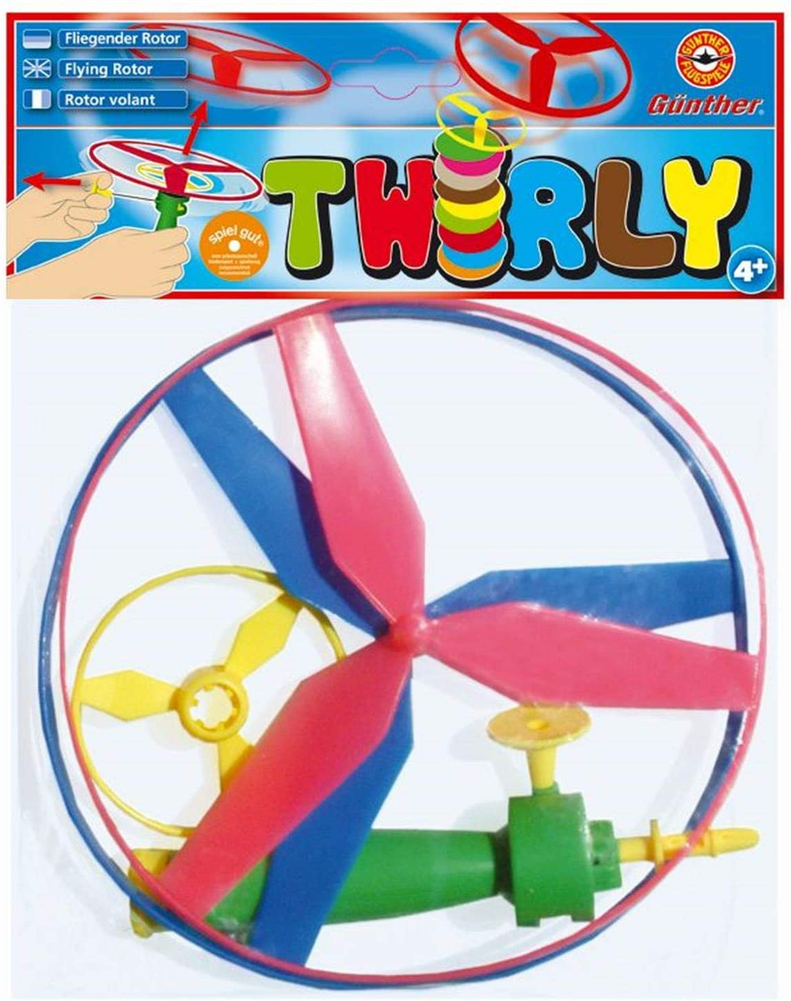 26,5 cm /& Paul G/ünther 1689 Rotordurchmesser ca Propellerspiel Twirly G/ünther 1645 Propeller Flugspiel Power Spin