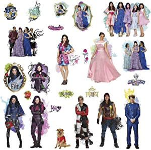 Defonia Descendants 24 Wall Decals Auradon Prep Isle Lost Room Decor Stickers New