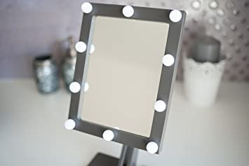 Spiegel Make Up : Make up spiegel mit lichter hollywood kosmetikspiegel beleuchtet