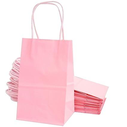 Amazon.com: Kelkaa bolsas de papel kraft para fiestas, 24 ...