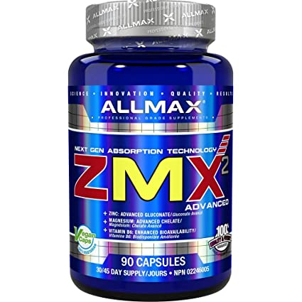AllMax Nutrition ZMA Capsules Pack of 90