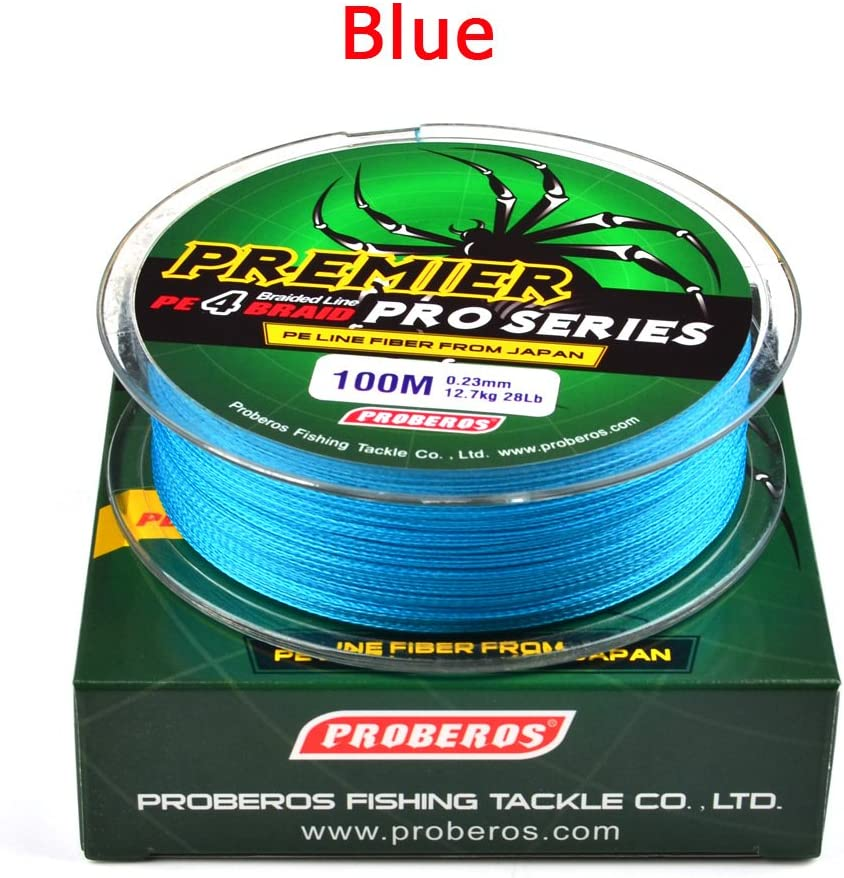 Leoie 100M Super Strong Braided Wire Fishing Line PE Material Multifilament Carp Fishing Rope