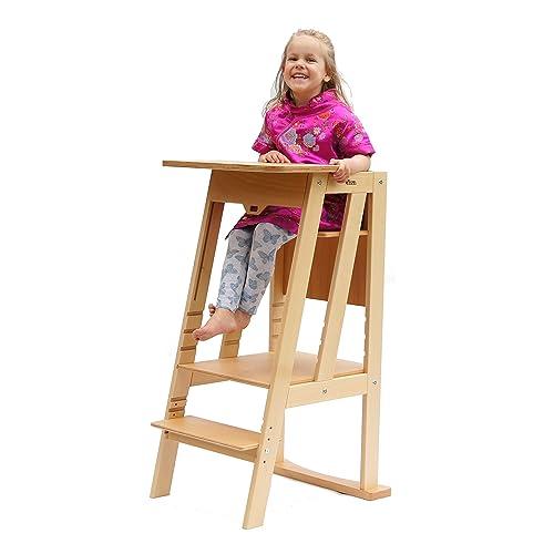 WERBUNG – LÄRNA Lernturm als Kindersitz