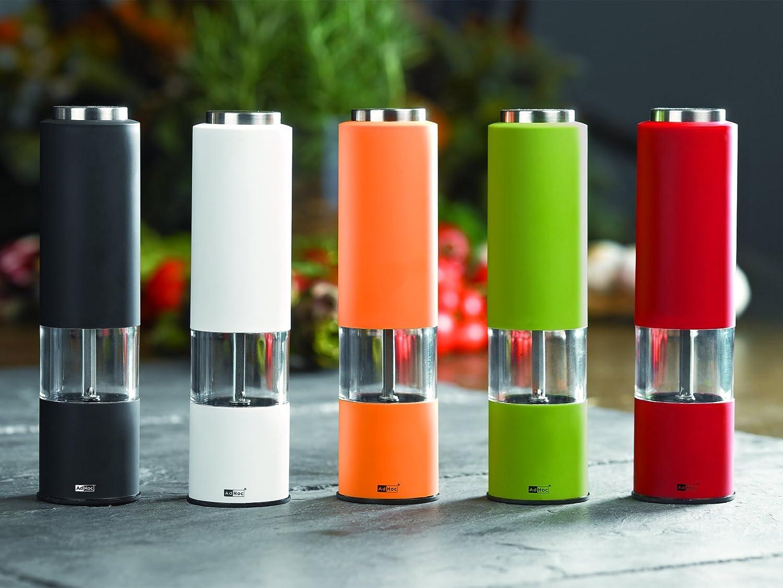 Adhoc EP22 - Molinillo eléctrico de sal o pimienta tropica negro con luz (h.nr.): Amazon.es: Industria, empresas y ciencia