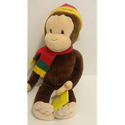 """MACY'S CURIOUS GEORGE SPECIAL EDITION 26"""" PLUSH WITH """"CURIOUS GEORGE IN THE BIG CITY"""" MINI BOOK BY MARGRET & H.A. REY'S: Toys & Games"""