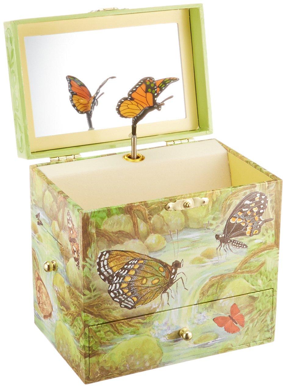 Enchantmints Monarchs Butterfly Music Jewelry Box by Enchantmints (Image #1)