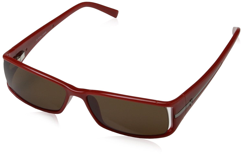 POLICE S1573, Gafas de Sol para Hombre, Marron, 54: Amazon ...