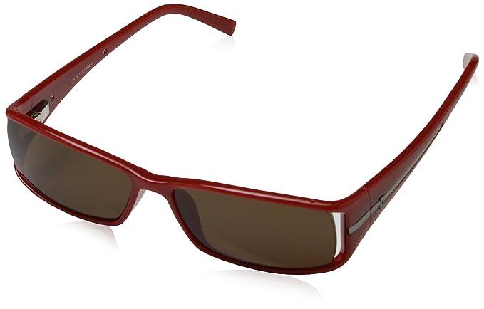 POLICE S1573, Gafas de Sol para Hombre, Marron, 54