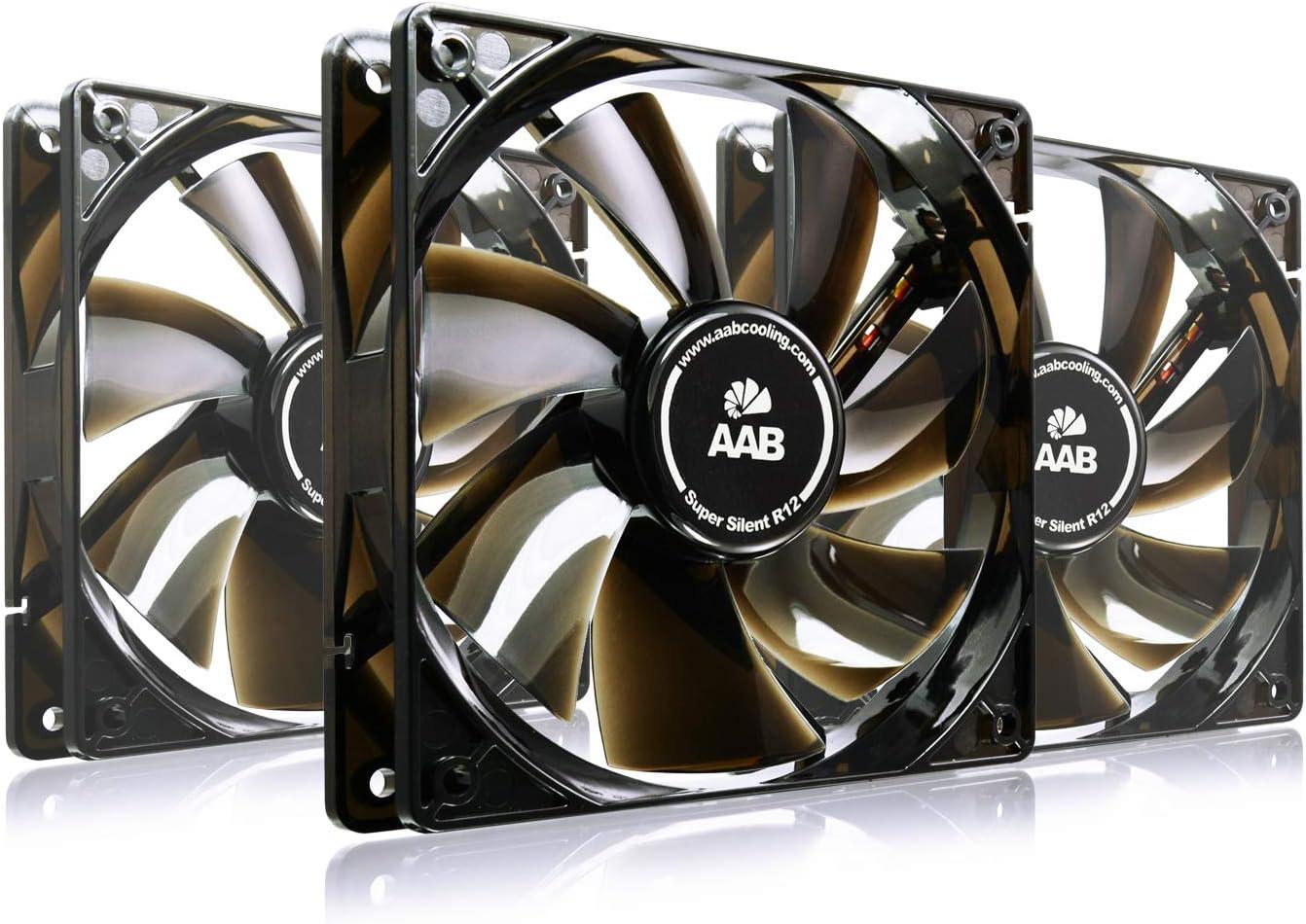 AAB Cooling Super Silent R12 - Un Silencioso y Muy Efectivo ...
