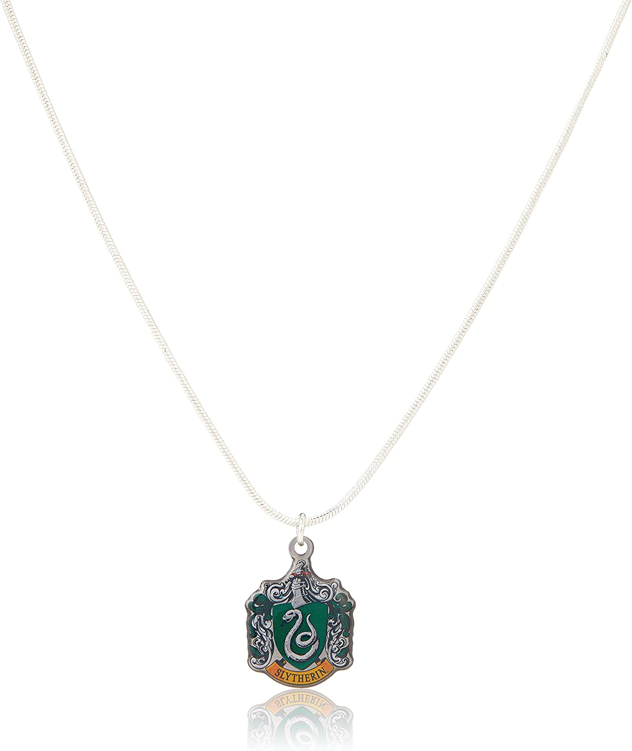Harry Potter Official Jewelry Slytherin Crest Necklace