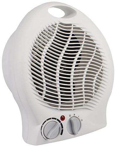 Lowry LUFH2005B Black Fan Heater | Home