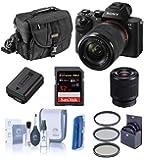 Sony Alpha a7II Digital Camera with FE 28-70mm f/3.5-5.6 OSS Lens - Bundle with Camera Case, 32GB Class 10 SDHC Card…