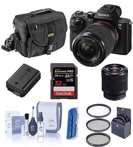 Amazon.com: Sony Alpha a7ii cámara digital con lente Fe 28 ...