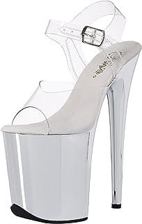 Pleaser Womens Xtreme-802CW Platform Sandal