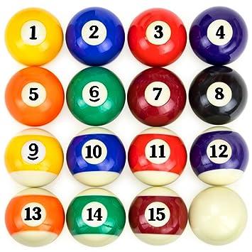 felson billiard supply fels 002 pool table billiard ball set rh amazon ca pool table balls for sale pool table balls set up