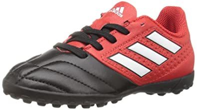 d5f5573cc adidas Performance Kids' Ace 16.4 J Turf Soccer Cleat, Red/White/Black