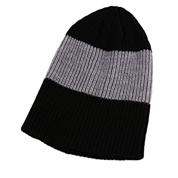 dc7c894312f Amazon.com   Women Men Cool Cotton Knitted Beanie Slouch Skull Cap Long  Baggy Hip-hop Winter Summer Hat   Beauty