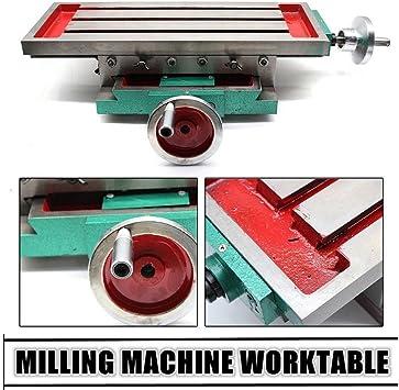 Mesa de trabajo de fresado multifunción Máquina de fresado mesa de ...