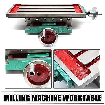 Mesa de trabajo de fresado multifunción Máquina de fresado mesa de perforación compuesta Mesa de coordenadas Mesa de taladrado de mesa de herramientas