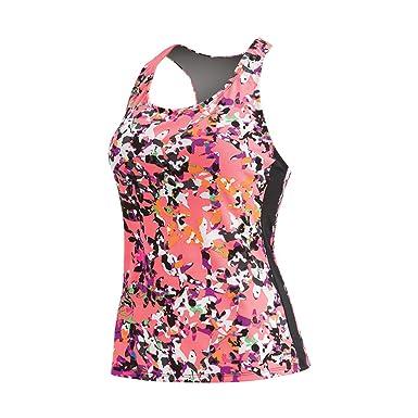 872d966b95099 Dolfin Aquashape Spring Fling Racerback Tankini Top Female at Amazon Women's  Clothing store: