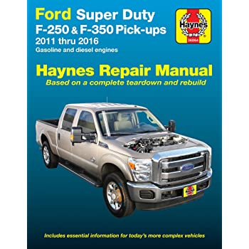 Haynes Repair Manual For Ford Super Duty F  Pick Ups