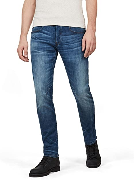 : G Star Raw Men's D STAQ 5 pkt Slim in Elto