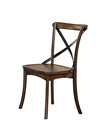 ACME Furniture 73032 Kaelyn Dark Oak Side Chair (Set Of 2)