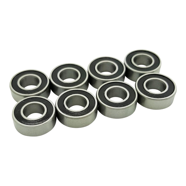 4 MR115-2RS 5x11x4mm Precision Ball Bearings Four