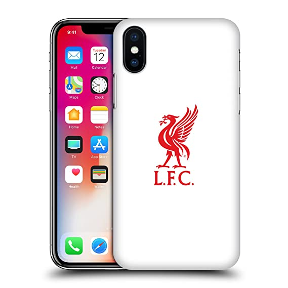 84ca4105b10 Amazon.com  Official Liverpool Football Club Red Logo On White Liver ...
