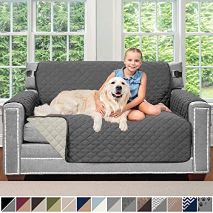 Amazon.com: Sofa Shield - Funda para muebles reversible ...