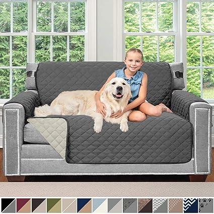 Amazon.com: Sofa Shield - Funda para muebles reversible ...