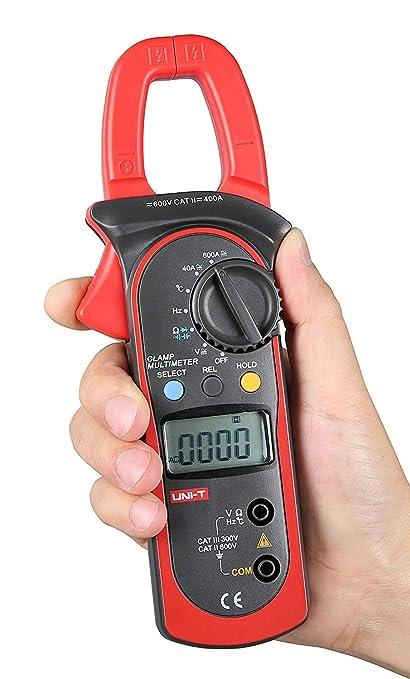 Signstek Ut203 Aktuelle Digitales Clamp Universalmessgerät Multimeter Handgehaltene Messzange Widerstands Frequenztester Voltmeter Stromkreisprüfer Ac Dc Gewerbe Industrie Wissenschaft