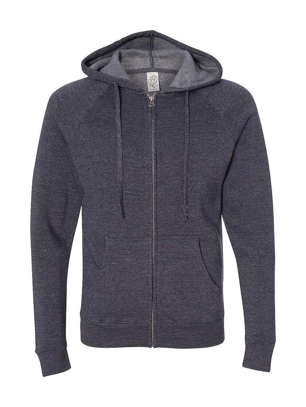 Independent Trading Co ITC-Unisex Special Blend Raglan Hooded Full-Zip Sweatshirt-PRM33SBZ