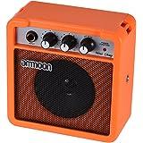 ammoon Mini 5 Watt 9V Battery Powered Amp Amplifier Speaker for Acoustic/Electric Guitar Ukulele High-Sensitivity with Volume Tone Control