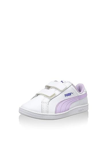 Puma 360163 02 Sneakers Mädchen Synthetisches Leder Weiss/violett Weiss/violett 28 66BYL