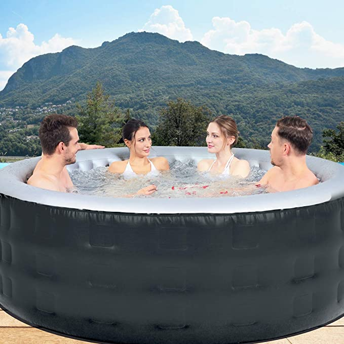 Amazon.com: Benross Avenli 6 Person AirJet - Spa hinchable ...