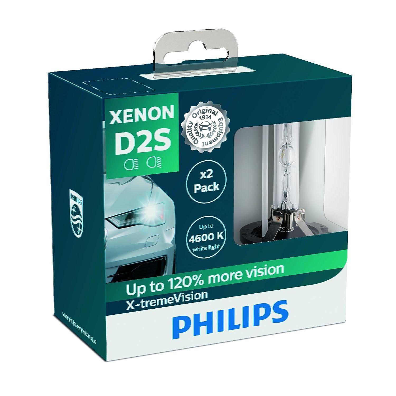 Philips 85415XVS2 Lampadina per Fari allo Xenon X-tremeVision D1S Confezione Doppia