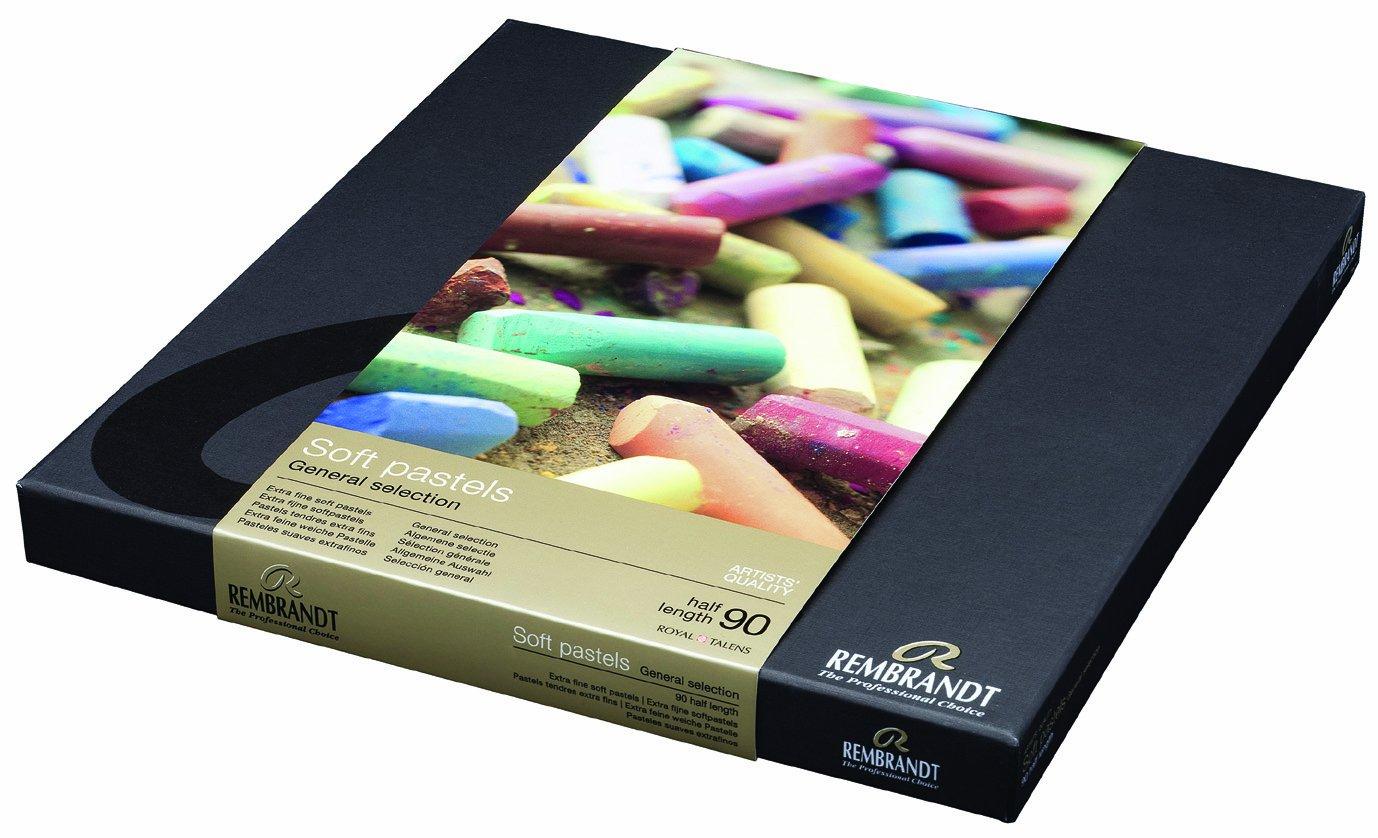 Sconosciuto Rembrandt Soft Pastels 90/Half Stick General Set