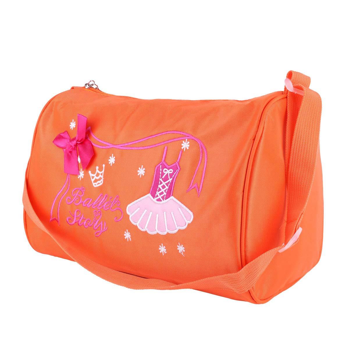 Mädchen Kinder Ballett Tanz Taschen Handtasche Tote Seesack Schwimmen Umhängetas