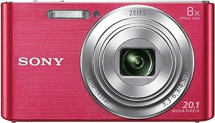 Sony Dsc W830 Digitalkamera 2 7 Zoll Pink Kamera