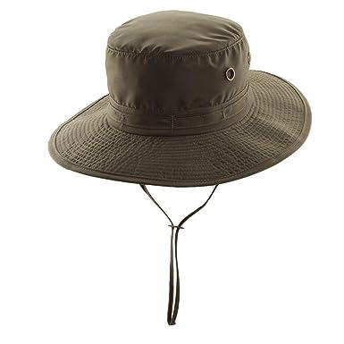 7134113d90f Amazon.com  Panama Jack Unisex Drawstring Bucket Hat  Clothing