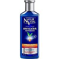 NaturVital Naturaleza y Vida Shampoo Anticaida Cabellos Grasos 300 ml