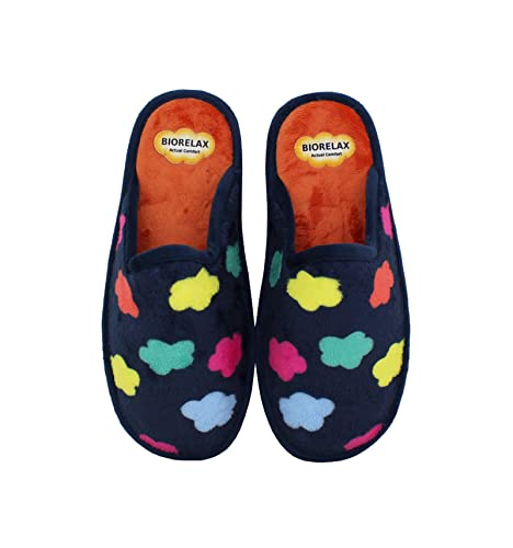 Zapatillas Biorelax - Mujer Nubes - Marino, 36: Amazon.es: Zapatos y complementos