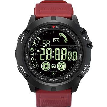 Reloj Inteligente Smart Watch Reloj Digita, para Actividades al Aire Libre, Sumergible, cronógrafo
