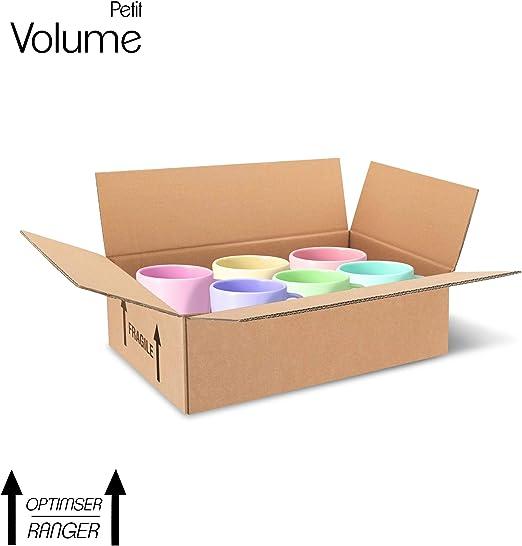 Paquete de 15 cajas de carton – Paquetes de envío para comercio - caja almacenaje alta calidad + 2 cintas adhesivas ofertas (Doble ondulación, 400x320x340): Amazon.es: Oficina y papelería
