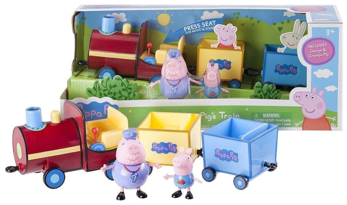 Peppa Pig 92601 Grandpa Train Toy Zoofy