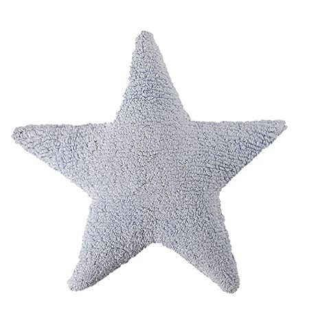 Cojín de estrella azul: Amazon.es: Bebé
