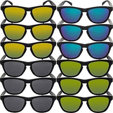 Gafas de sol lentes HD UV 400 Sunglasses + funda varios colores