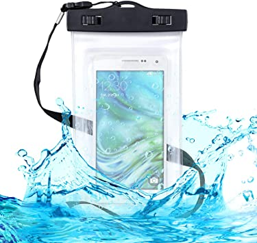 kwmobile Funda Impermeable de Playa para Smartphone: Amazon.es ...